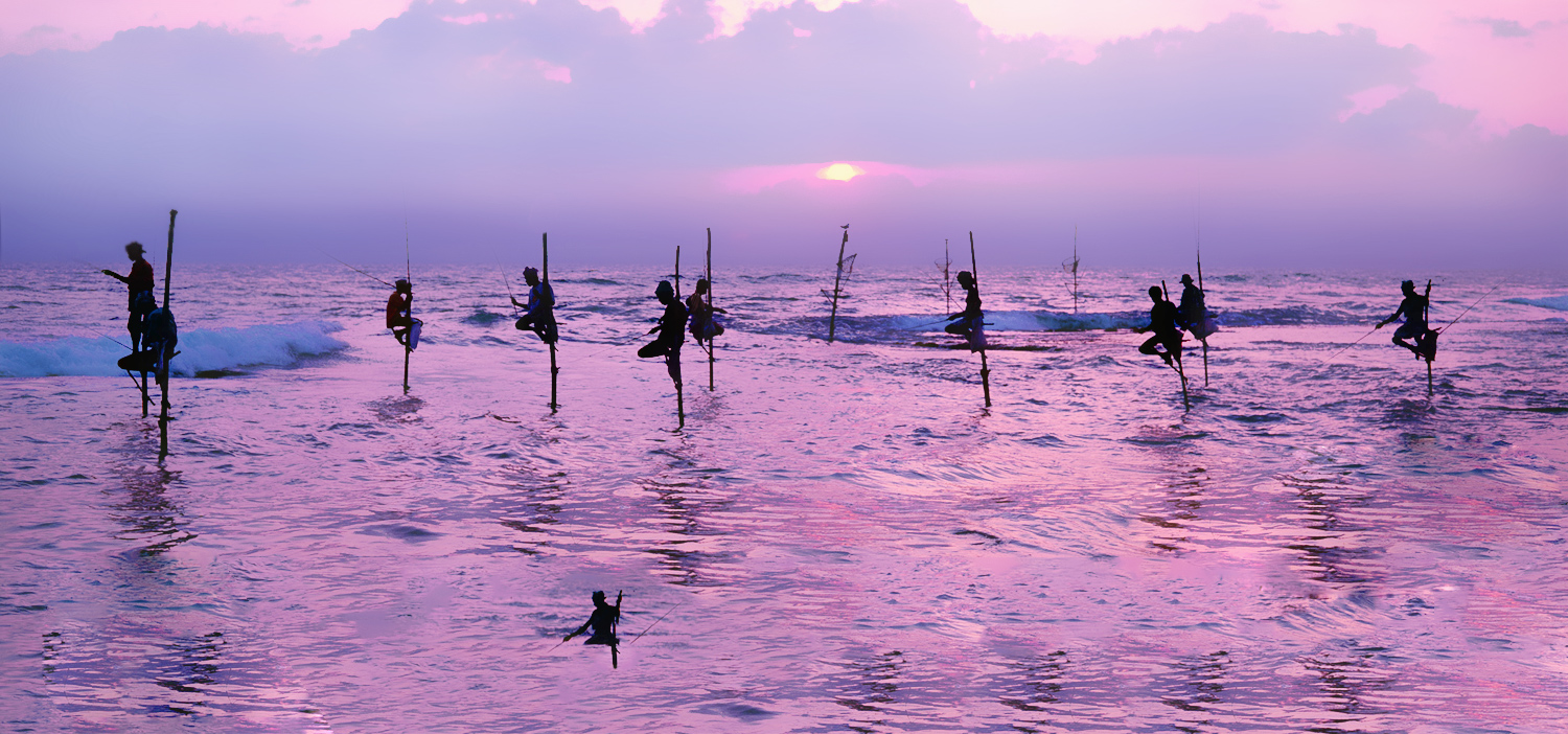 Stilt Fisherman ...